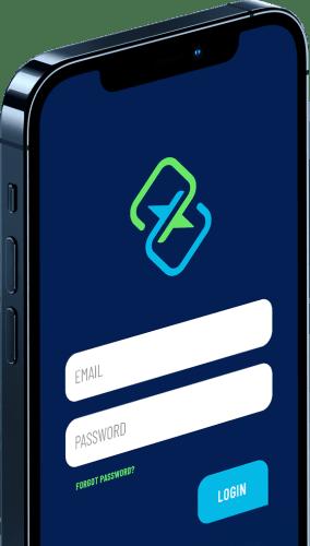 TxtSquad App on Cellphone