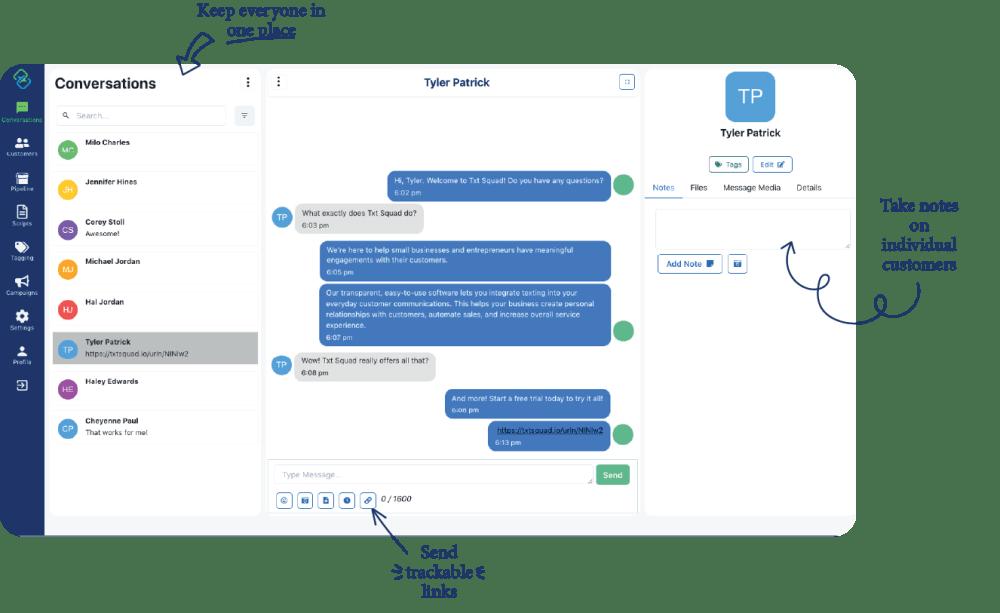TxtSquad App