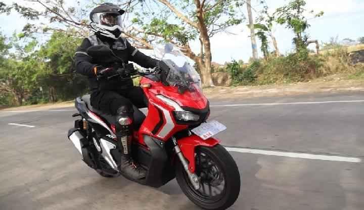 Honda ADV 150 dijajal di jalanan Bali dalam World Premiere Riding Experiace pada Jumat 9 Agustus 2019. Dok AHM