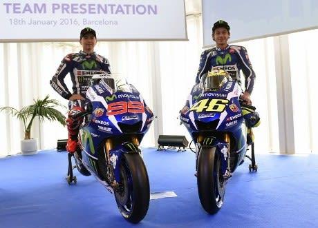 Motor baru Yamaha untuk MotoGP 2016