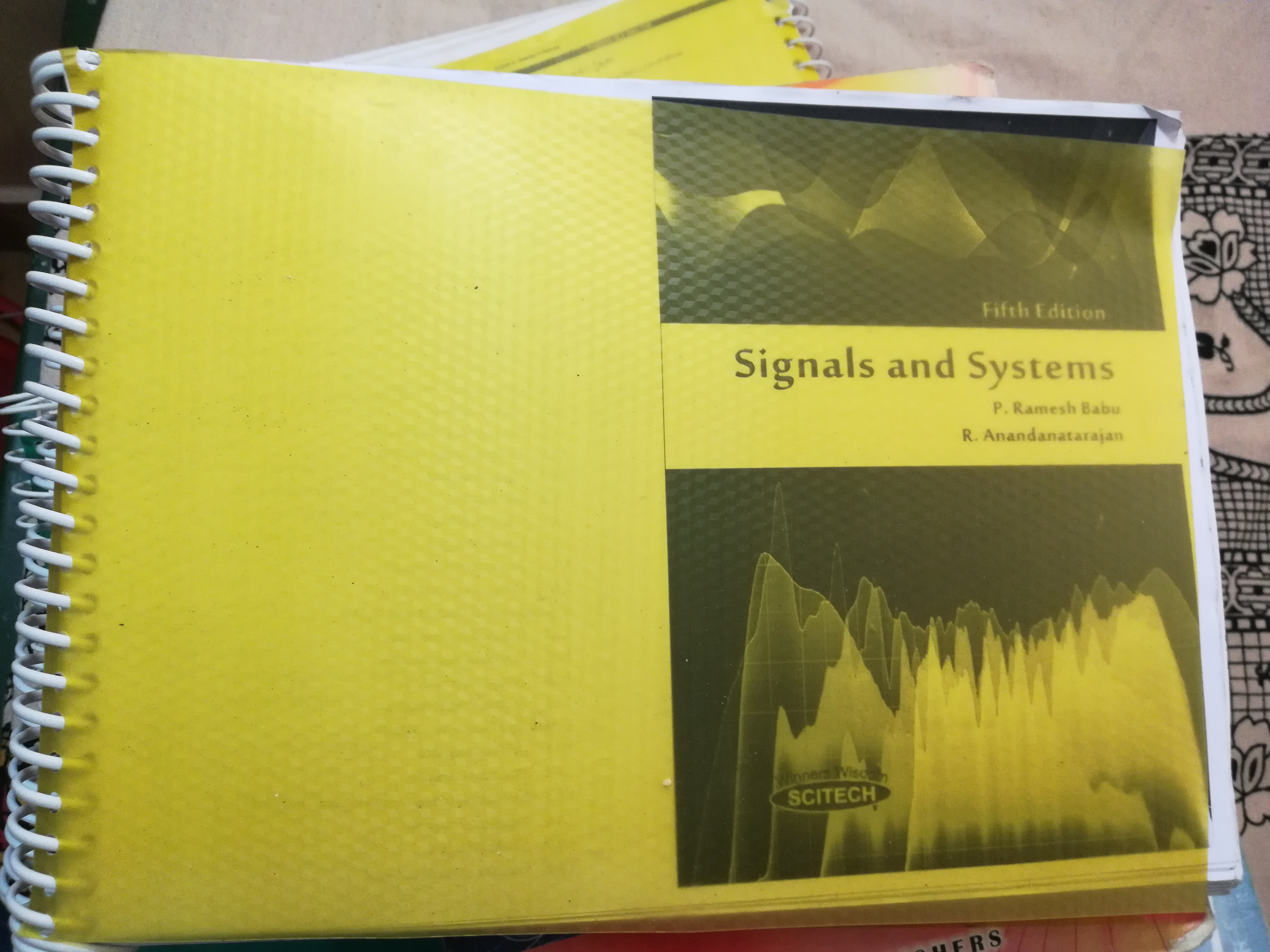 Signals and systems by ramesh babu