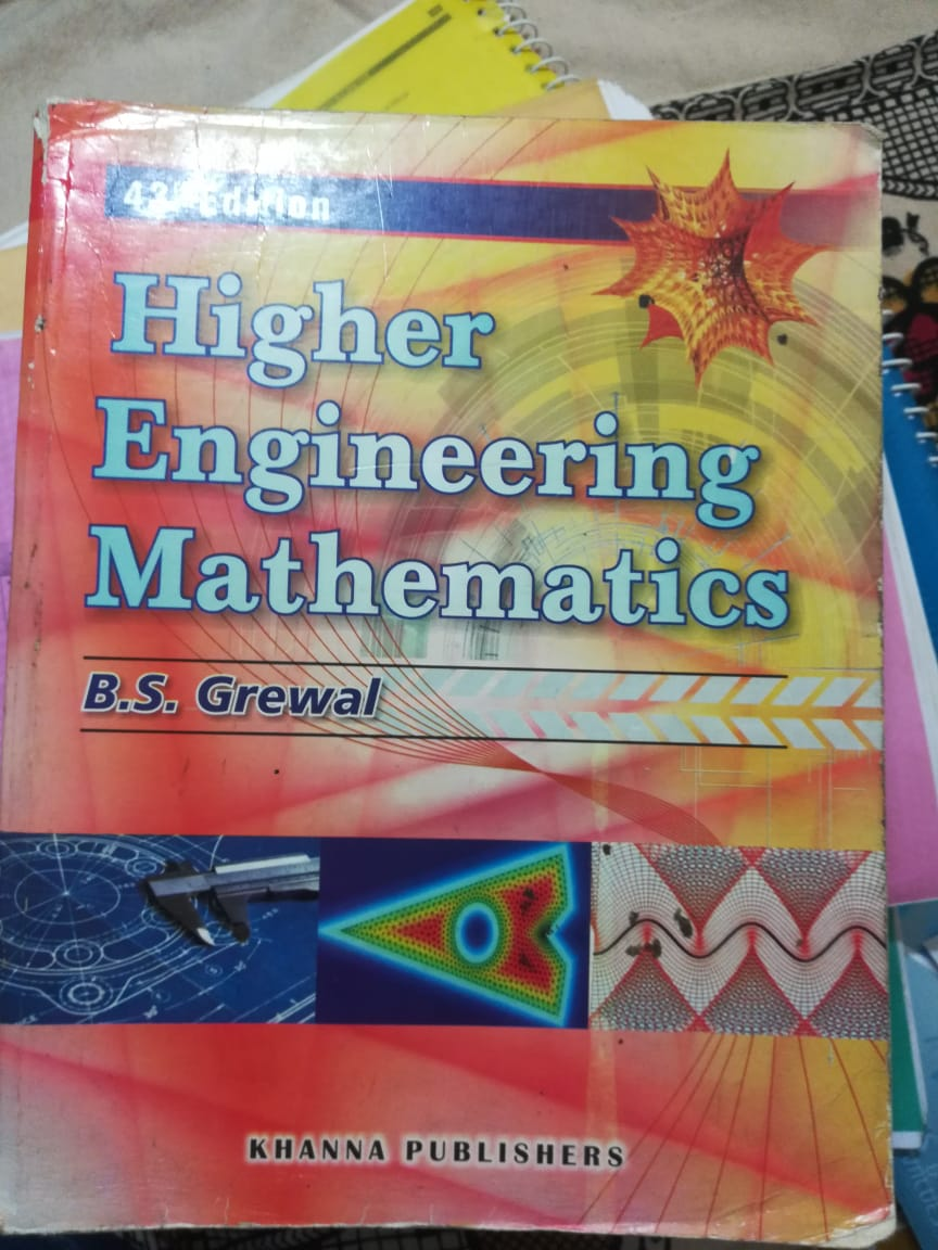 HIGHER ENGINEERING MATHEMATICS(bs grewal) 43 Edition