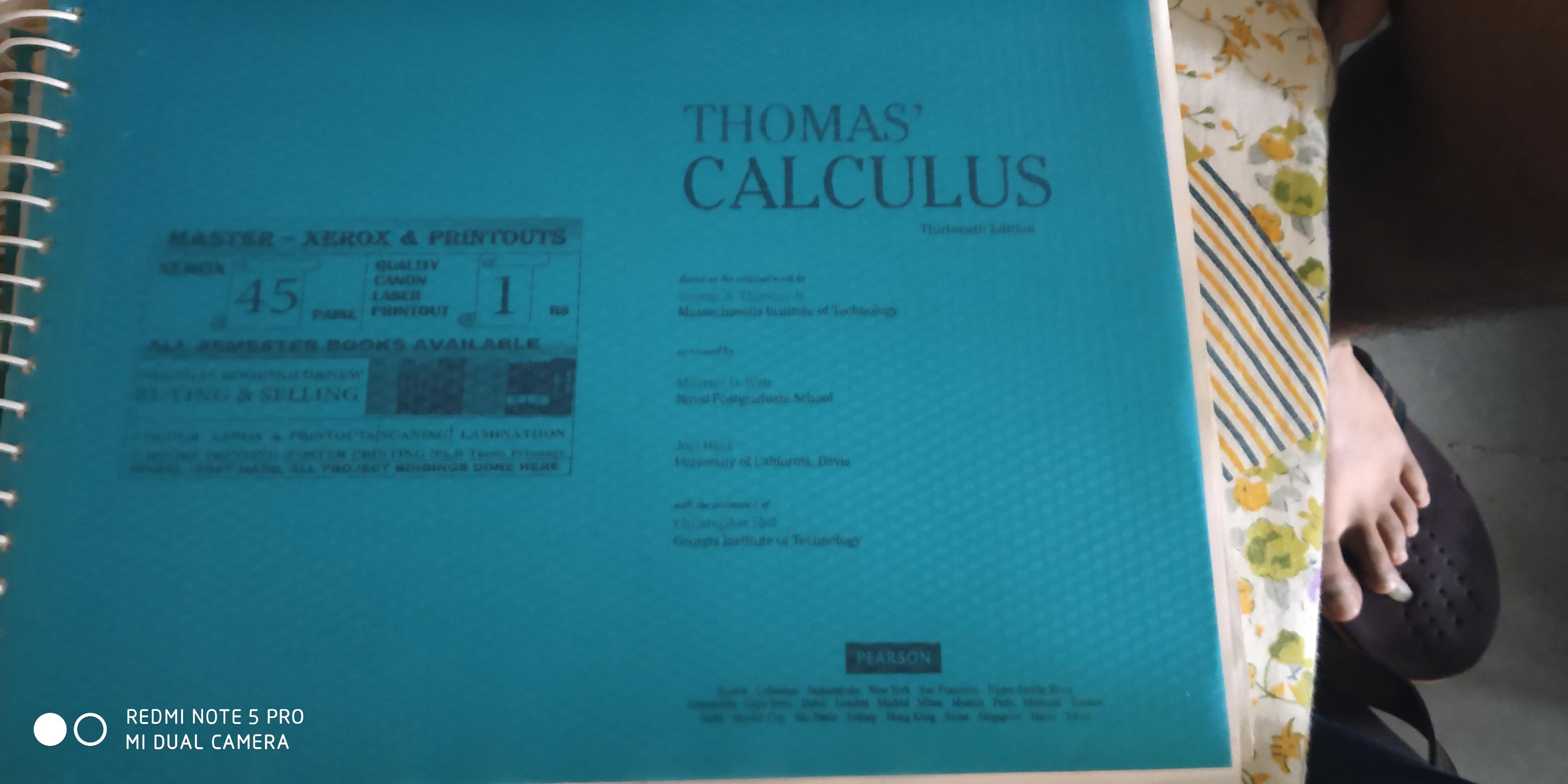 Thomas calculas