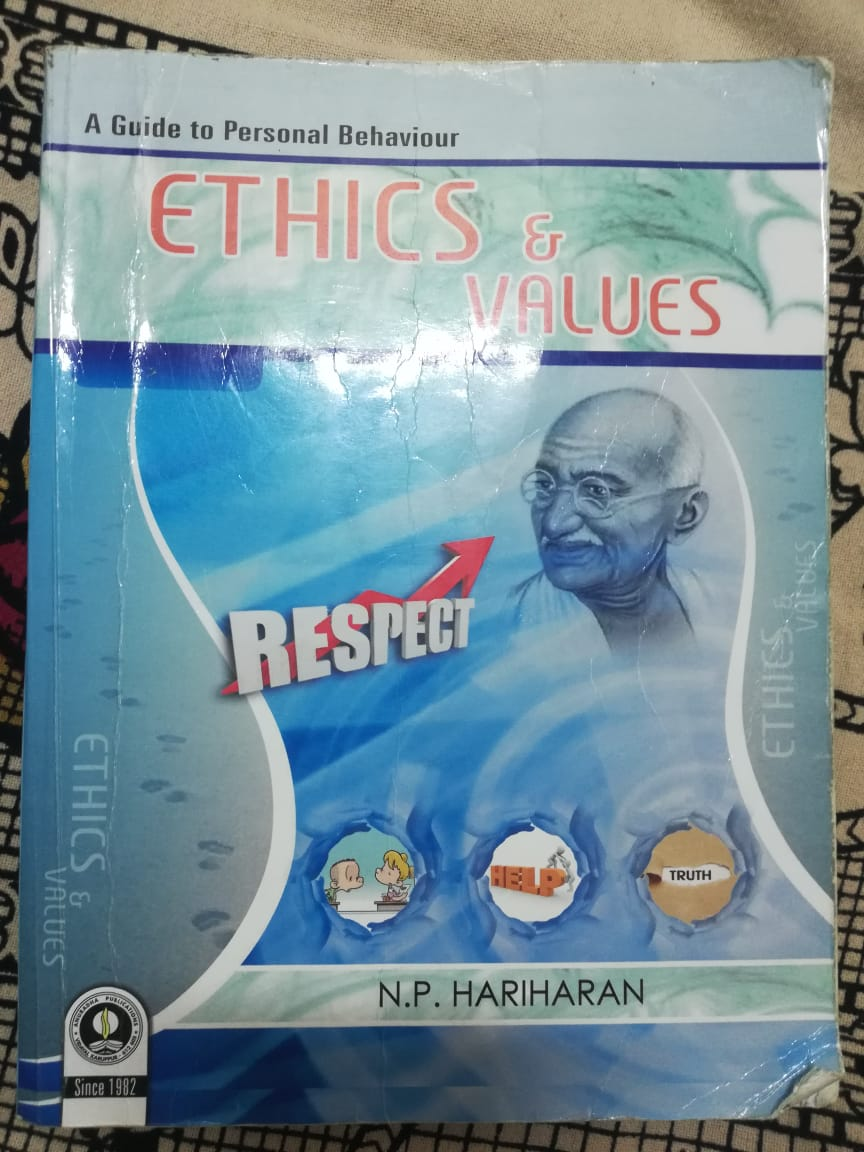 Ethics and Values book