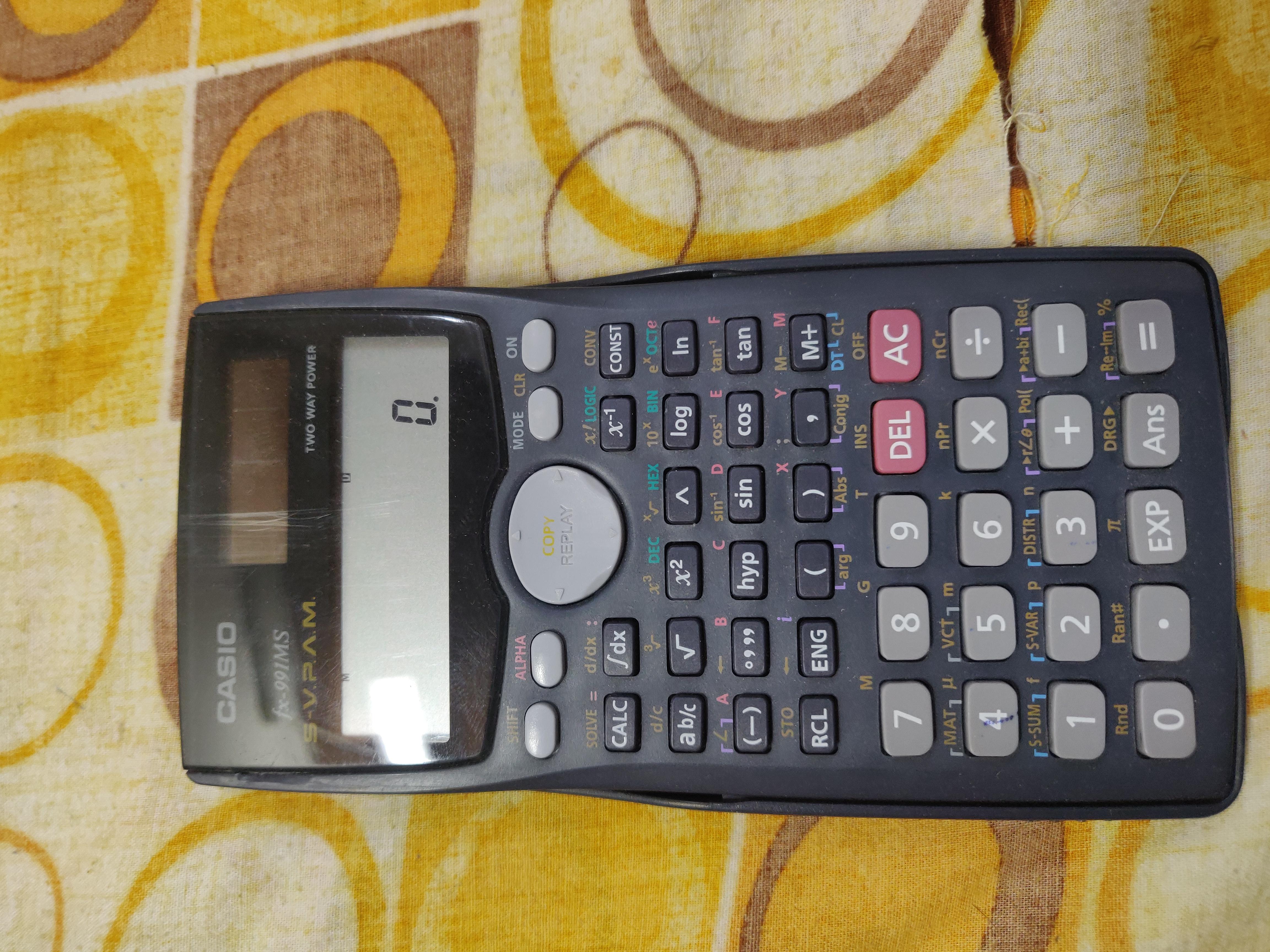 Calculator FX991 ms