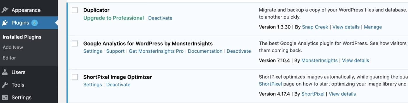 MonsterInsights - Settings
