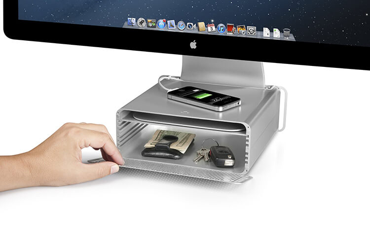 HiRise Mac Stand & Storage System by Twelve South