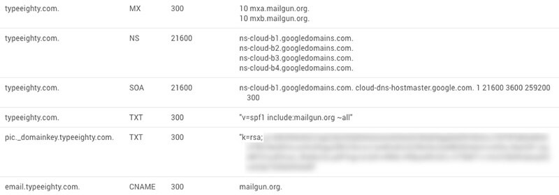 Google Cloud DNS - TypeEighty