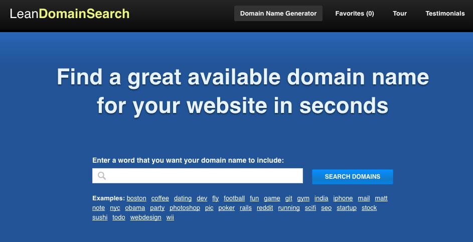 Lean Domain Search - TypeEighty