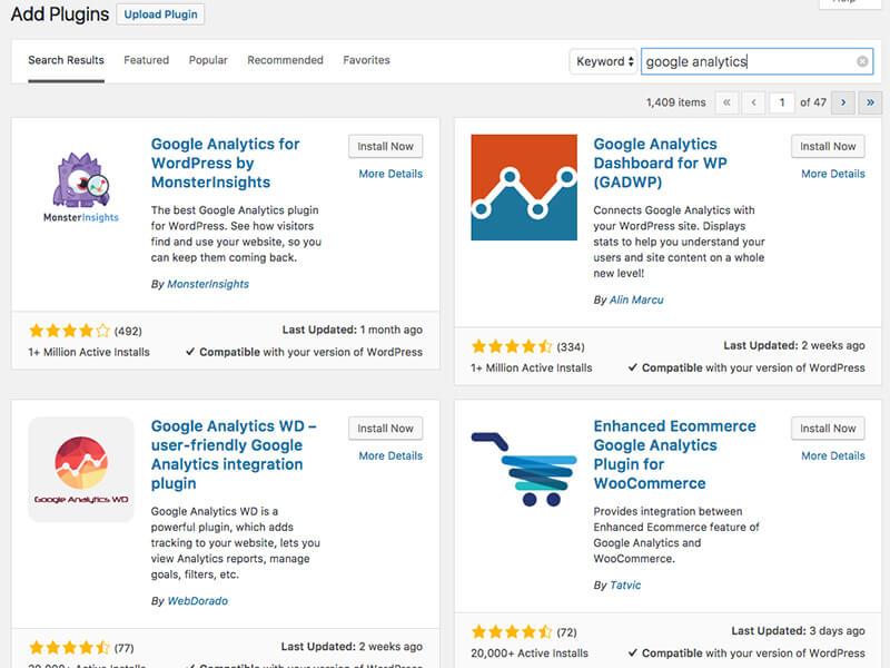 WordPress Plugin Search - TypeEighty