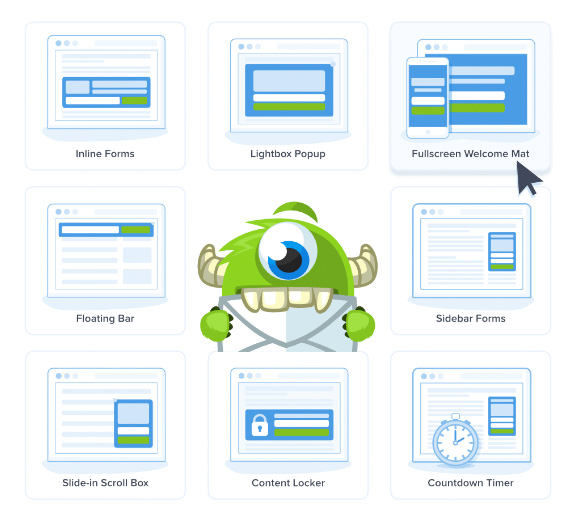 OptinMonster Campaign Types - TypeEighty