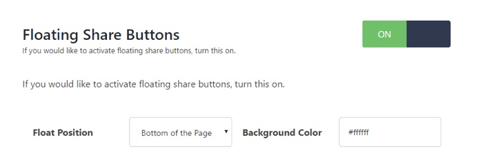 Social Warfare - Floating Share Buttons - TypeEighty