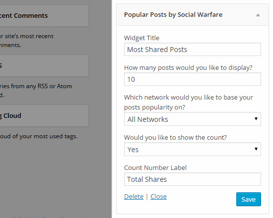 Social Warfare - Popular Posts Widget - TypeEighty
