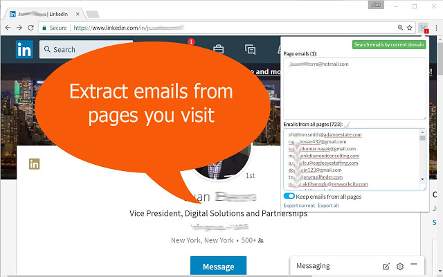 Email Hunter - Email Extractor