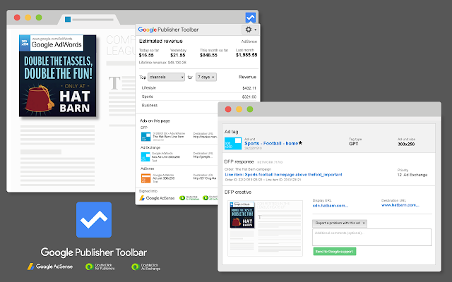 Google Publisher Toolbar