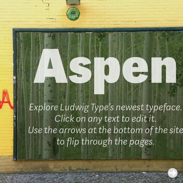 screenshot of Aspen