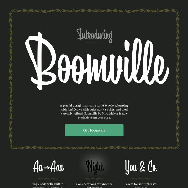 screenshot of Boomville