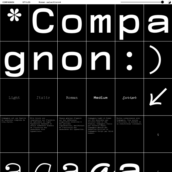 screenshot of Compagnon