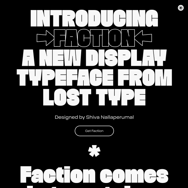 screenshot of Faction
