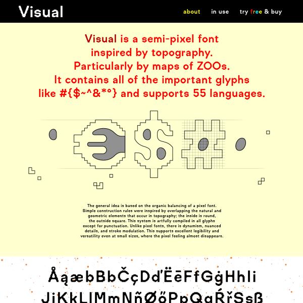 screenshot of Visual