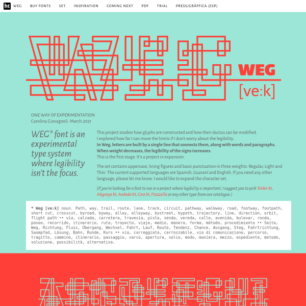 screenshot of — WEG —