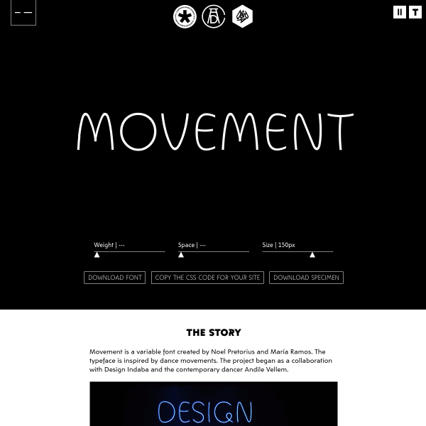screenshot of Movement
