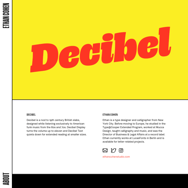 screenshot of Decibel