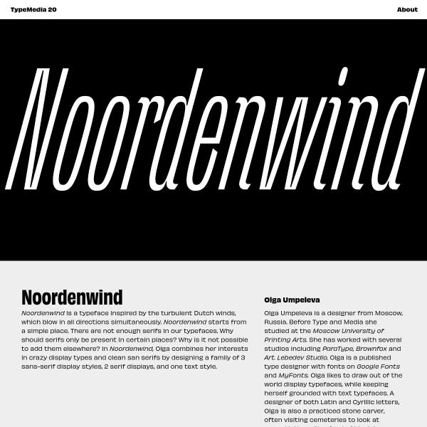 screenshot of Noordenwind