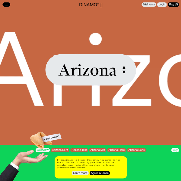 screenshot of Arizona
