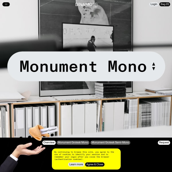 screenshot of Monument Mono