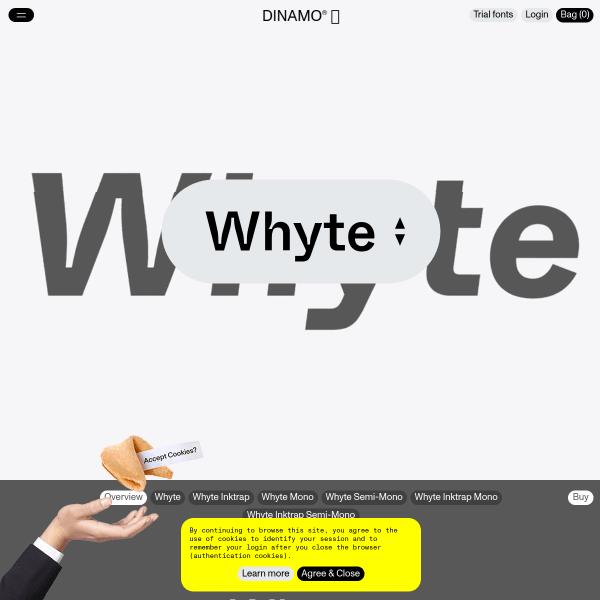 screenshot of Whyte