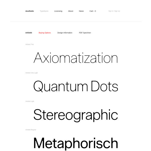 screenshot of Arkitekt