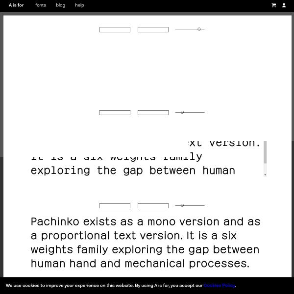 screenshot of Pachinko