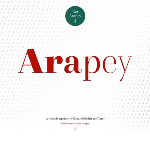 screenshot of Arapey
