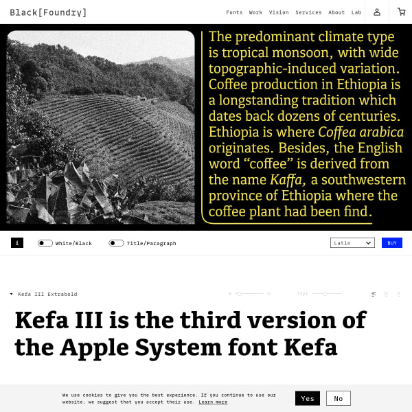 screenshot of Kefa III
