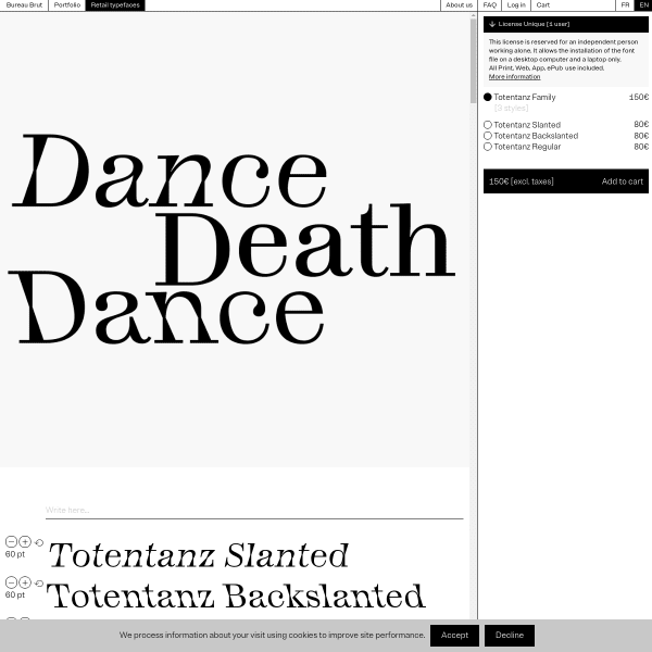 screenshot of Totentanz