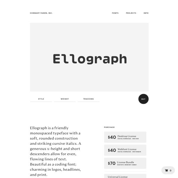 screenshot of Ellograph