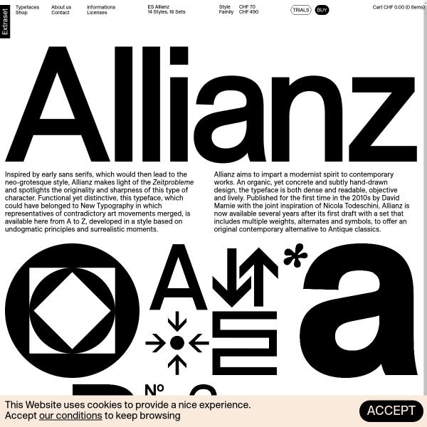 screenshot of ES Allianz