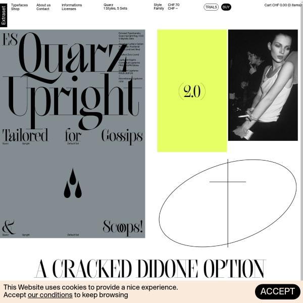 screenshot of Quarz