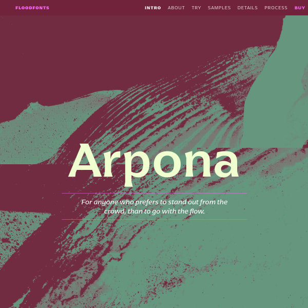 screenshot of Arpona