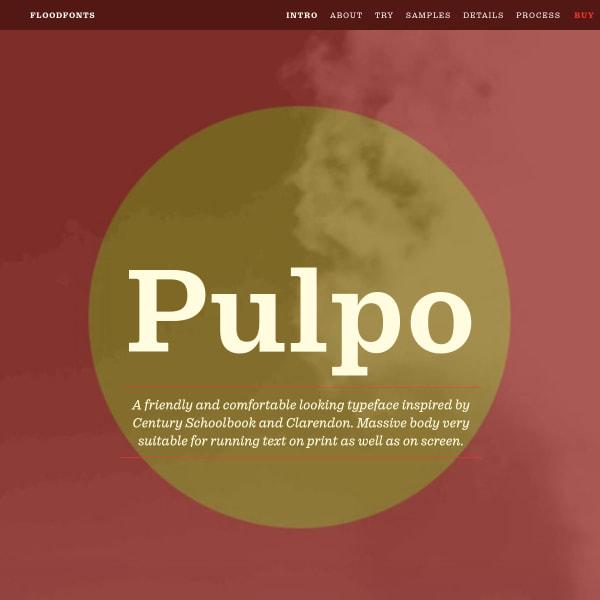 screenshot of Pulpo
