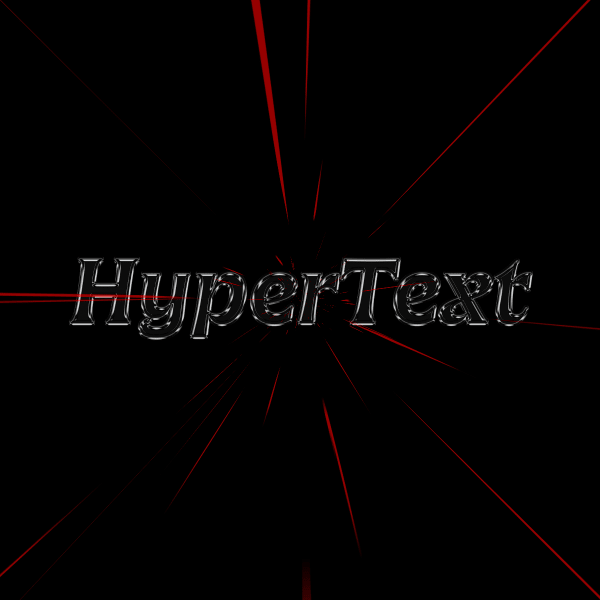 screenshot of HyperText * Future Fonts Year One