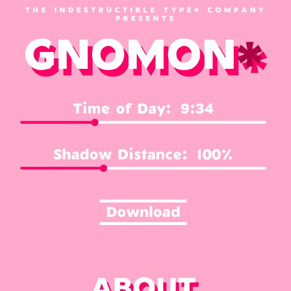 screenshot of Gnomon*