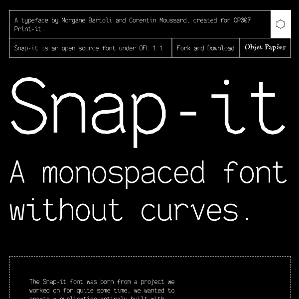 screenshot of Snap-it