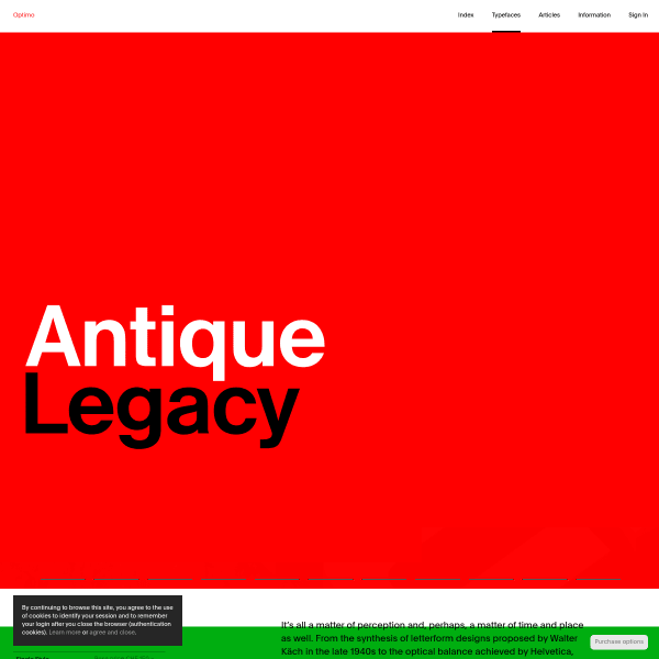 screenshot of Antique Legacy