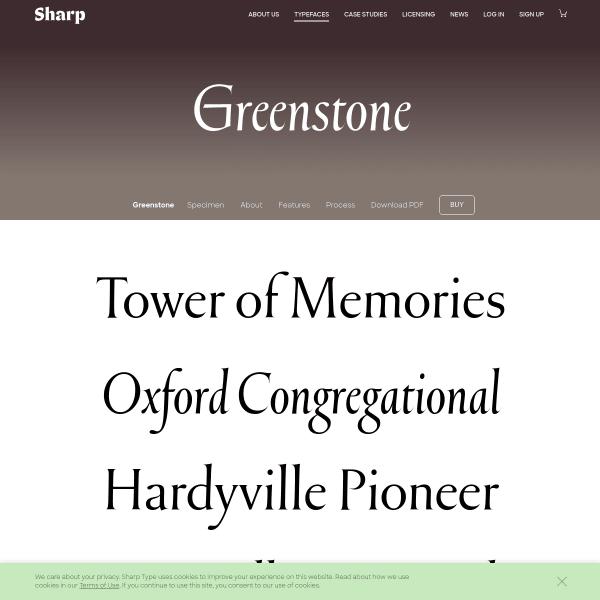 screenshot of Greenstone