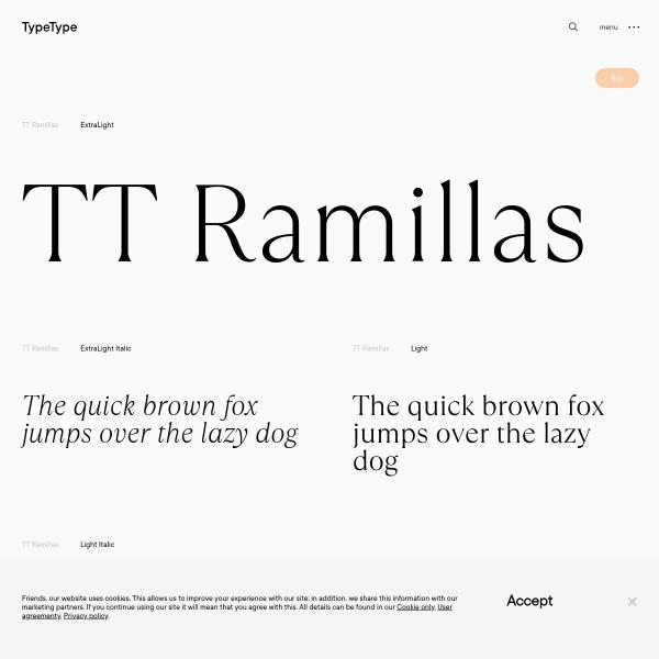 screenshot of TT Ramilla