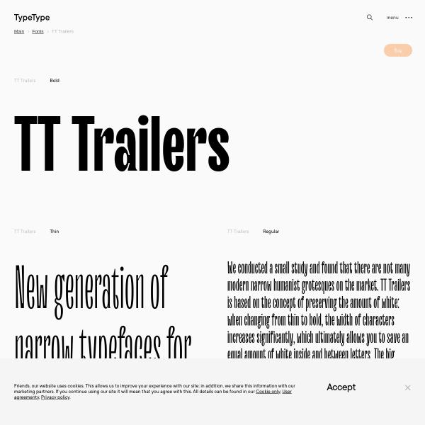 screenshot of TT Trailers