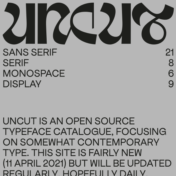screenshot of UNCUT
