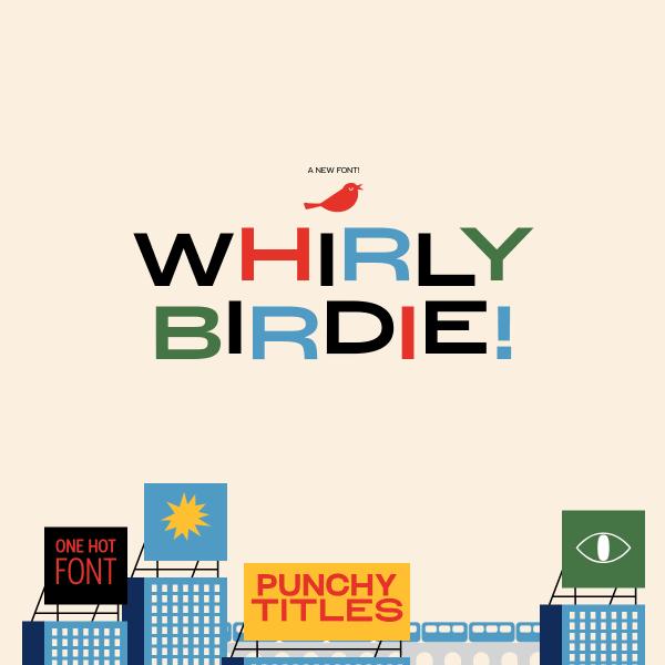 screenshot of Whirly Birdie